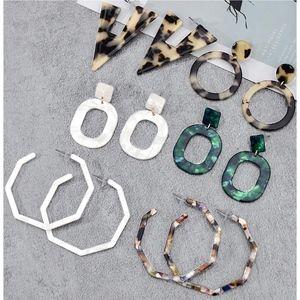 Jewelry - ‼️BOGO FREE BaubleBar Style Acrylic Earrings Hoop